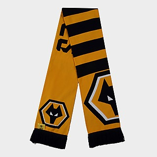Official Team Wolverhampton Wanderers FC Crest Scarf