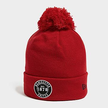 New Era Manchester United FC Pom Pom Beanie Hat