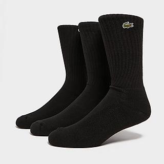 Lacoste 3-Pack Crew Socks