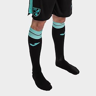 Joma Norwich City 2021/22 Away Socks Junior PRE ORDER