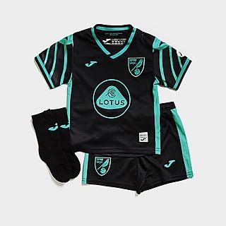 Joma Norwich City FC 2021/22 Away Kit Infant