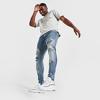 Brave Soul Leyland Heavy Rip Jeans