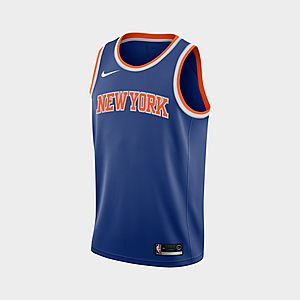 finest selection 7f61f 32f9f Nike Icon Edition Swingman (New York Knicks) Men's Nike NBA Connected Jersey