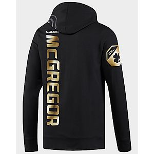 7c6fd916 ... REEBOK UFC Fight Night McGregor Walkout Hoodie