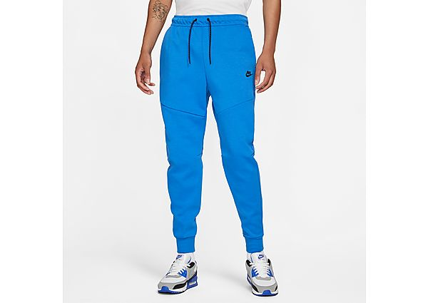 Nike Tech Fleece Joggers - Signal Blue - Mens