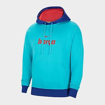 Nike F.C. Barcelona Men's Fleece Pullover Hoodie