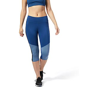 d1612eeda8451 REEBOK Workout Ready Capri ...