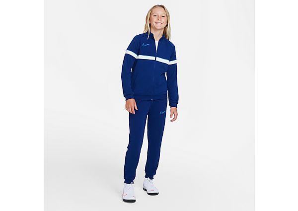 Nike Nike Dri-FIT Academy Older Kids' Football Tracksuit - Blue Void - Kids