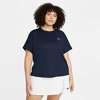 Nike NikeCourt Dri-FIT Victory Women's Short-Sleeve Tennis Top (Plus Size)