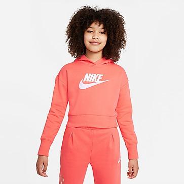 Nike Girls' Sportswear Cropped Hoodie Junior