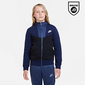 Nike Hybrid Fleece Full Zip Hoodie Junior