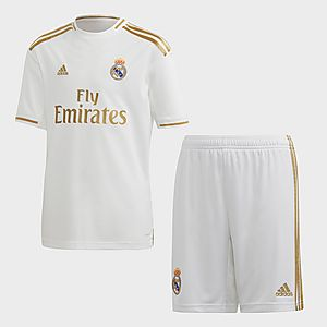 sneakers for cheap 3b031 59c37 adidas Performance Real Madrid Home Youth Kit