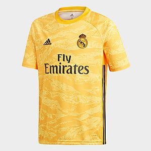 timeless design 31a8d 308f3 adidas Performance Real Madrid Home Goalkeeper Jersey