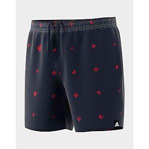 314e0ac5b5 adidas Performance Allover Print Swim Shorts ...