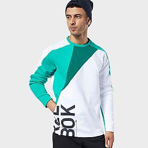 0a36bd9243 REEBOK One Series Training Colorblock Sweatshirt