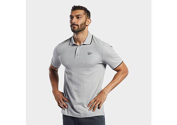 Reebok training essentials polo shirt - Grey - Mens