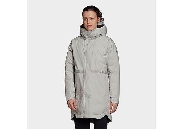 adidas Traveer Insulated RAIN.RDY Parka - Metal Grey - Womens