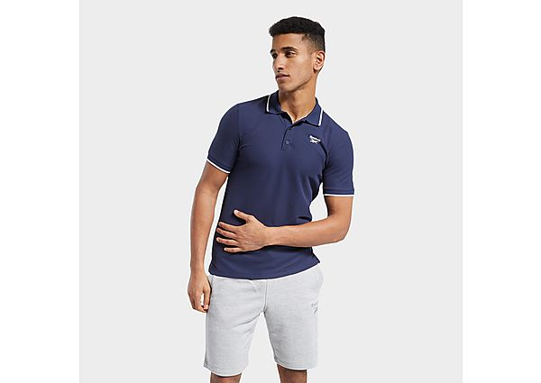 Reebok training essentials polo shirt - Vector Navy - Mens