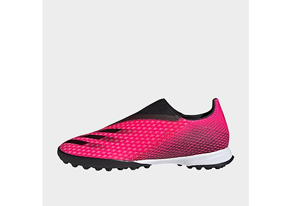adidas X Ghosted.3 Laceless Turf Boots - Shock Pink - Womens