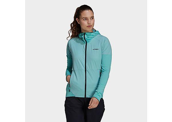 adidas Terrex Skyclimb Fleece Jacket - Acid Mint - Womens