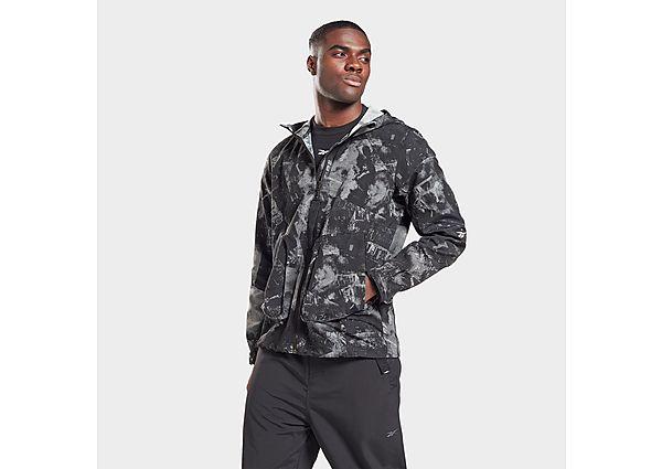 Reebok printed utility jacket - Black - Mens