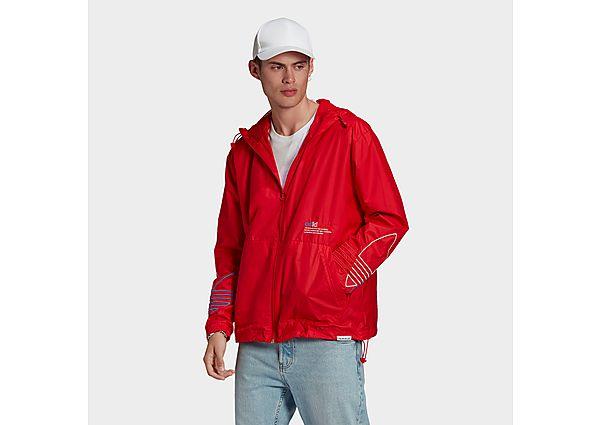 adidas Originals Adicolor FTO Windbreaker - Scarlet - Mens