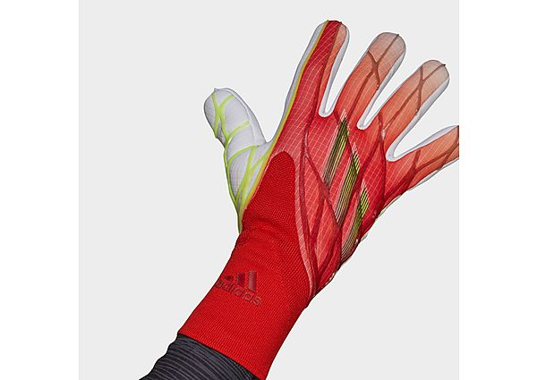 adidas X Pro Goalkeeper Gloves - Solar Red