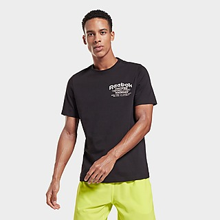 Reebok weightlifting novelty graphic t-shirt