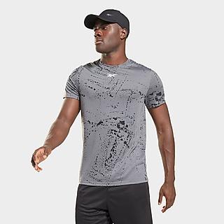Reebok workout ready allover print t-shirt