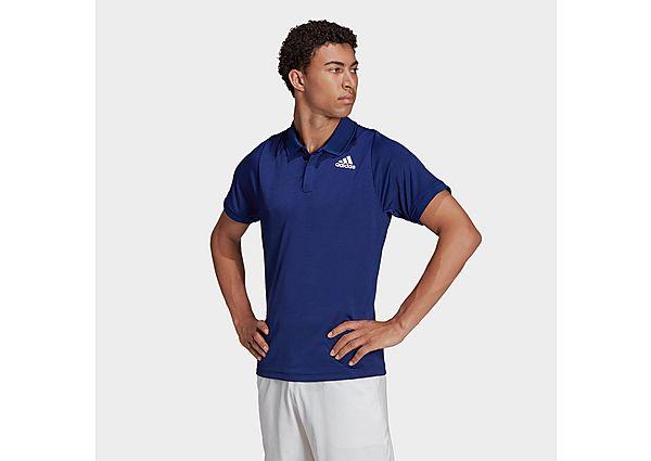 adidas Tennis Freelift Polo Shirt - Victory Blue - Mens