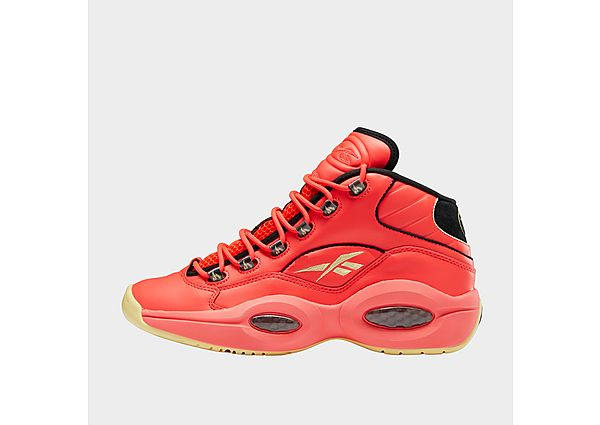 Reebok question mid shoes - Neon Cherry