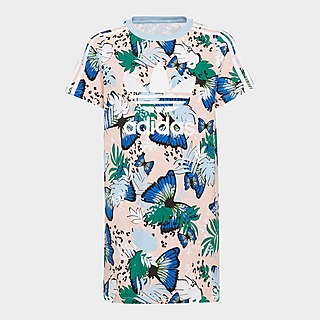 adidas Originals HER Studio London Animal Flower Print Tee Dress