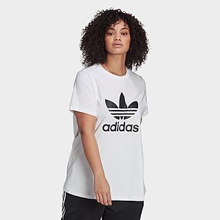 adidas Originals Adicolor Classics Trefoil T-Shirt (Plus Size)