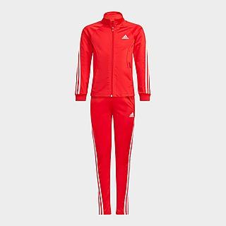 adidas Team Polyester Regular 3-Stripes Tracksuit