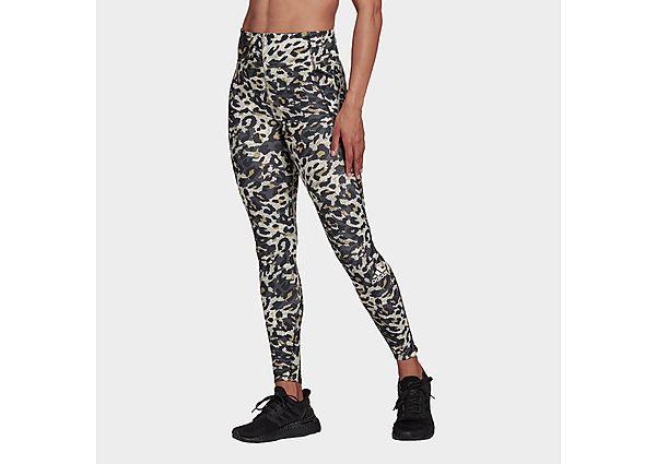 adidas Adizero Primeblue Long Running Leggings - Grey Six - Womens