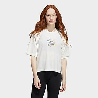 adidas Love Unites Graphic Crop T-Shirt