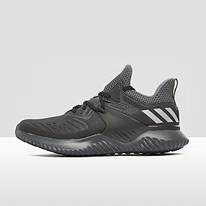 adidas cloudfoam racer mid sneakers grijs heren