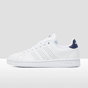 947547c0758 ADIDAS ADVANTAGE SNEAKERS WIT/BLAUW
