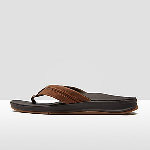4efd33f8d89 REEF LEATHER ORTHO-BOUNCE COAST SLIPPERS BRUIN HEREN