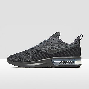 0fff6b21fad NIKE AIR MAX SEQUENT 4 SNEAKERS ZWART HEREN