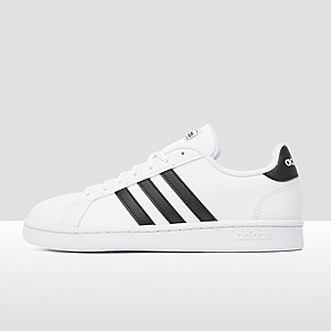 66ef659920f ADIDAS GRAND COURT SNEAKERS WIT/ZWART DAMES