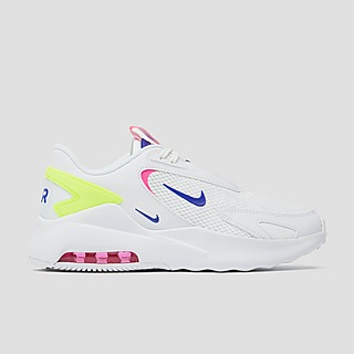 NIKE AIR MAX BOLT SNEAKERS WIT/BLAUW DAMES