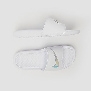 NIKE BENASSI JUST DO IT SLIPPERS WIT DAMES