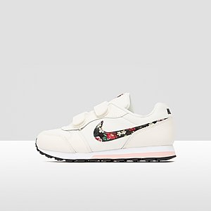 193be9435e7212 NIKE MD RUNNER 2 SNEAKERS WIT/ROZE KINDEREN