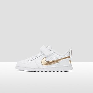 140d1bca30e NIKE COURT BOROUGH LOW SNEAKERS WIT/GOUD BABY