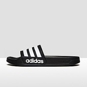 d77be3a9663 ADIDAS CLOUDFOAM ADILETTE SLIPPERS ZWART HEREN