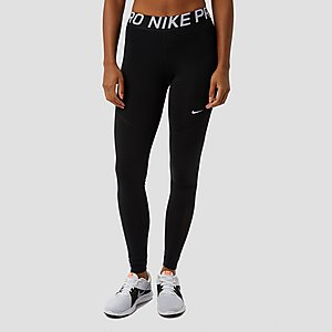 a8689d26555 NIKE PRO NEW SPORTTIGHT ZWART DAMES