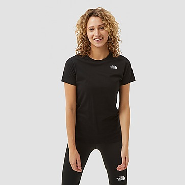 THE NORTH FACE SIMPLE DOME SHIRT ZWART DAMES