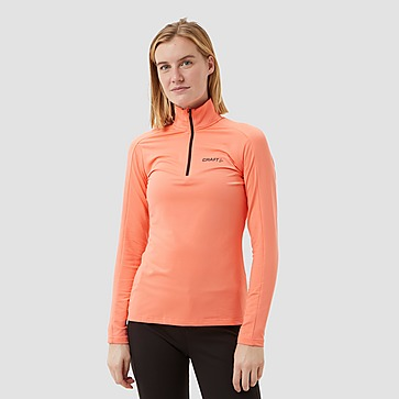 CRAFT CORE GAIN MIDLAYER SKIPULLY ROZE DAMES