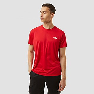 THE NORTH FACE REAXION CREWNECK OUTDOORSHIRT ROOD HEREN
